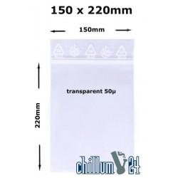 Baggies Blanko 150x220mm