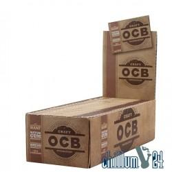 Box 25x OCB Craft Unbleached Regular Size 100 Blatt