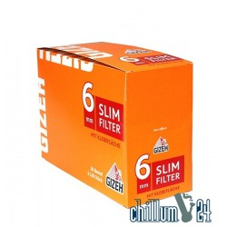 Box 20x Gizeh Slim Filter 6mm