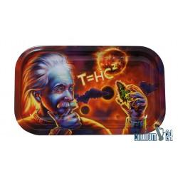 Metall Rolling Tray Einstein Medium Size 27 x 16 cm