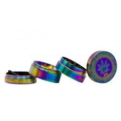 Grace Glass Amsterdam Metall Grinder 4-tlg 38 mm Rainbow
