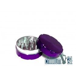 Alu-Grinder 40mm 2-Teilig Purple