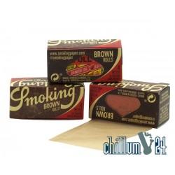 4m Smoking Medium Brown Rolls