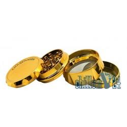 Champ High 4-tlg. Kunststoff-Grinder 63 mm Gold