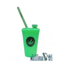 PieceMaker Kommuter Silipint-Becherbong Light Green