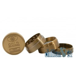 Champ High Aluminium Grinder 4-tlg Gold 38 mm