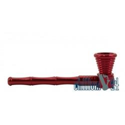 Schraubpfeife Aluminium Red 11 cm