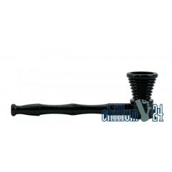 Schraubpfeife Aluminium Black 11 cm