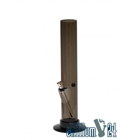 Acryl Bong Straight 32 cm Anthrazit