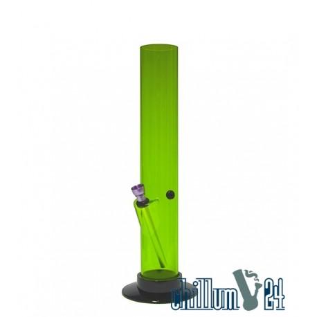 Acryl Bong Straight 32 cm Green