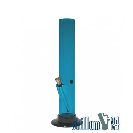 Acryl Bong Straight 32 cm Blue