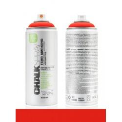 Montana 400ml Chalkspray CH3000 Red