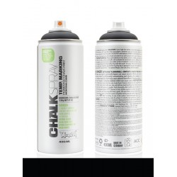 Montana 400ml Chalkspray CH9000 Black