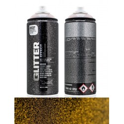 Montana Glitter Effect 400ml Dusty Gold