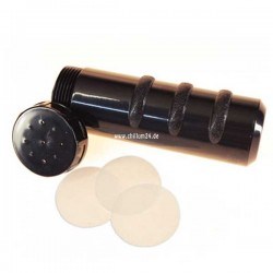 BHO Extractor in schwarz, ca. 14cm, Ø ca. 4cm