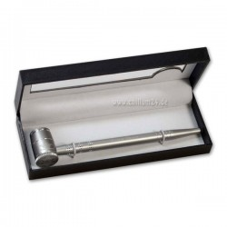 Screen Queen sieblose Pfeife Silver 16 cm