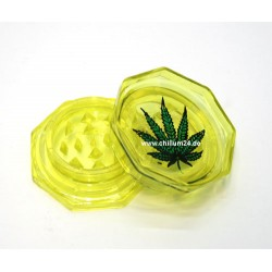 Leaf Acryl Grinder 2-teilig 55mm gelb
