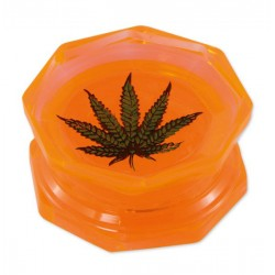 Leaf Acryl Grinder 2-teilig 55mm orange