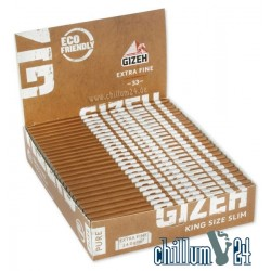 BOX 25x Gizeh King Size Slim Pure Extra Fine