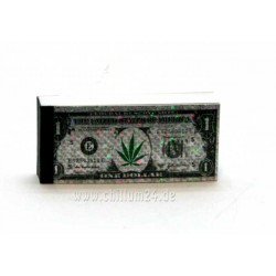 """Filtertips """"Dollar"""" durchgehend bedruckt 2,4 x 5,5cm 40 Tips"""