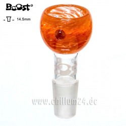 Boost Sieb Glassteckkopf 14,5er Schliff Fumed Orange