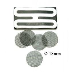 Stahl Einlegesiebe ca. 18mm grob 5er Pack