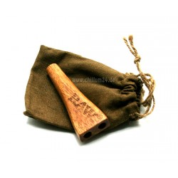 RAW Wooden Double Barrel Zigarettenhalter