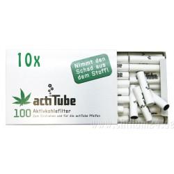 Box mit 10 x 100er ActiTube Aktivkohlefilter