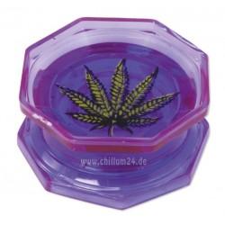 Leaf Acryl Grinder 2-teilig 55mm purple