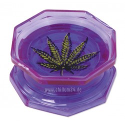 Leaf Acryl Grinder 2-teilig 55mm purple