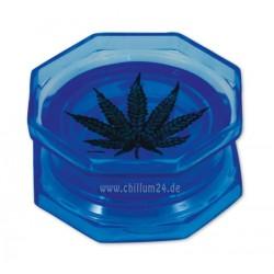 Leaf Acryl Grinder 2-teilig 55mm blau