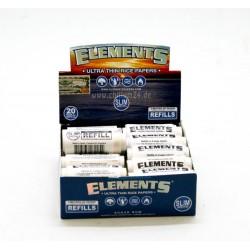 Box mit 20x Refill 5m Elements 1 1/4 Ultra Thin Rice Paper Rolls
