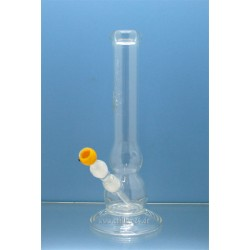 Flow Double Bowl Bouncer Glas Bong 18,8er Schliff 39cm
