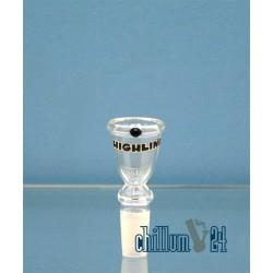 Glassteckkopf Sieb Highline 14,5er Schliff