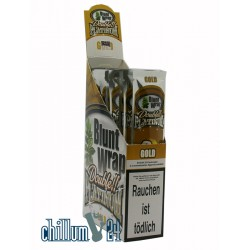 Box Gold  25 BLUNT WRAPs PLATINUM 2er Pack