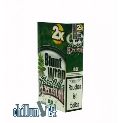 Box Jade 25 BLUNT WRAPs PLATINUM 2er Pack
