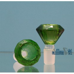 Glas Siebkopf 18.8 Diamond green