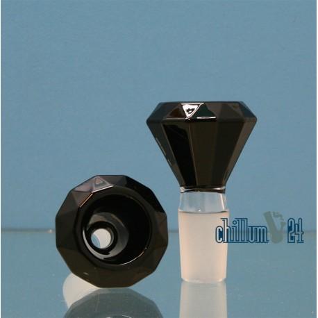Glas Siebkopf 18.8 Diamond black