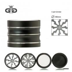 GG Metallgrinder 4-teilig Silber