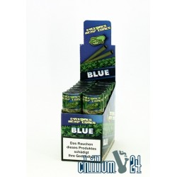 Box mit 12x2 Cyclone Hemp Blunt Blue