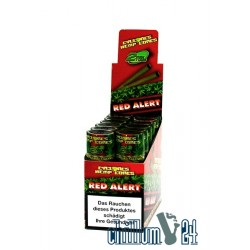 Box mit 12x2 Cyclone Hemp Blunt Red Alert