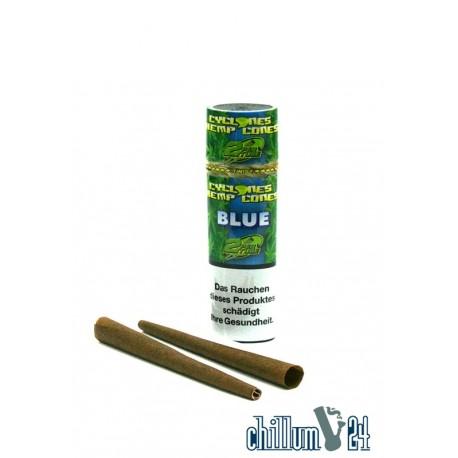 Cyclone Hemp Blunt Blue