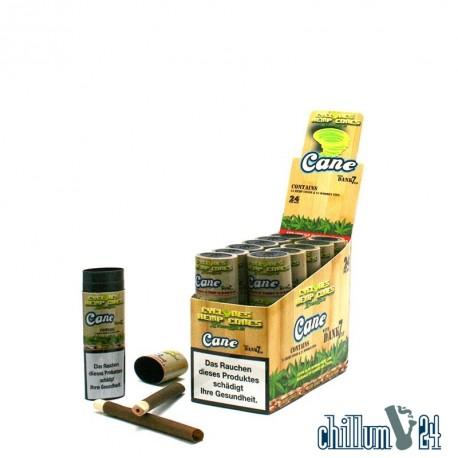Box 12x Cyclone Hemp Cones Xtra Slo Cane 2er