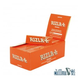 Box mit 50x Rizla Orange Zigarettenpapier 50 Blatt