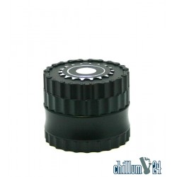 Dreamliner 4-tlg Alu Grinder Mechanic Design 62mm black