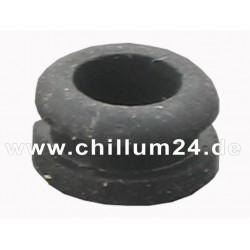 Dichtungsgummi f. Chillum H-förmig schwarz