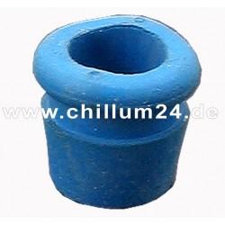 Dichtungsgummi f. Chillum, trichterförmig, blau