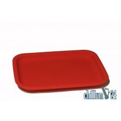 Champ High Silikon Tray 20x15x2cm rot