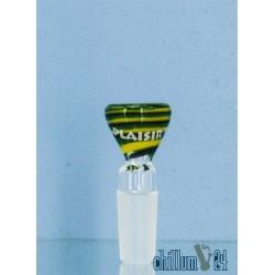 Plaisir Bunte Flutschköpfe 14,5er grün-gelb-schwarz