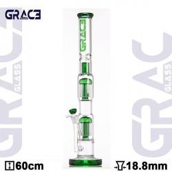 GG Bong LABZ Green Cane 2x 10-Arm Perc 60cm
